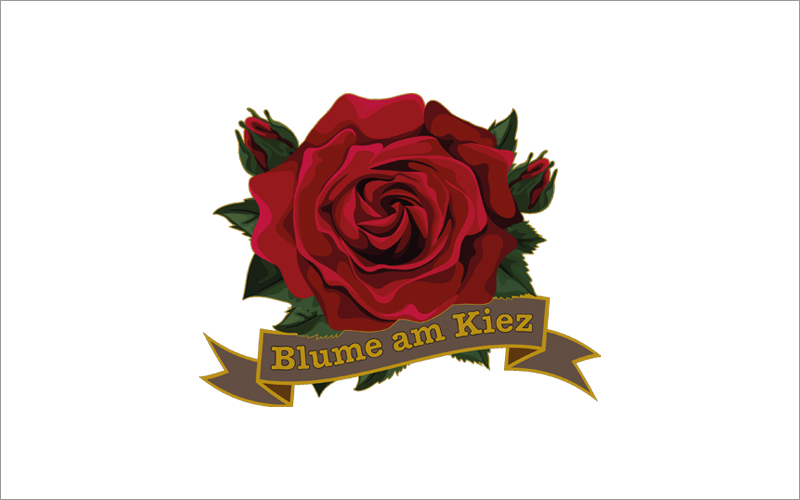Blume am Kiez Logo