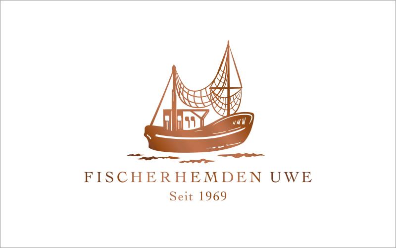 Fischerhemden Uwe Logo