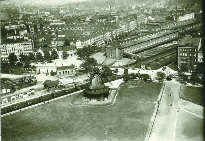 Historische Ausstellung_Windmühle Neuer Kamp